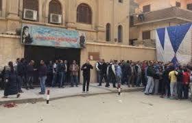 10 killed in an attack on a church in Helwan, Egypt