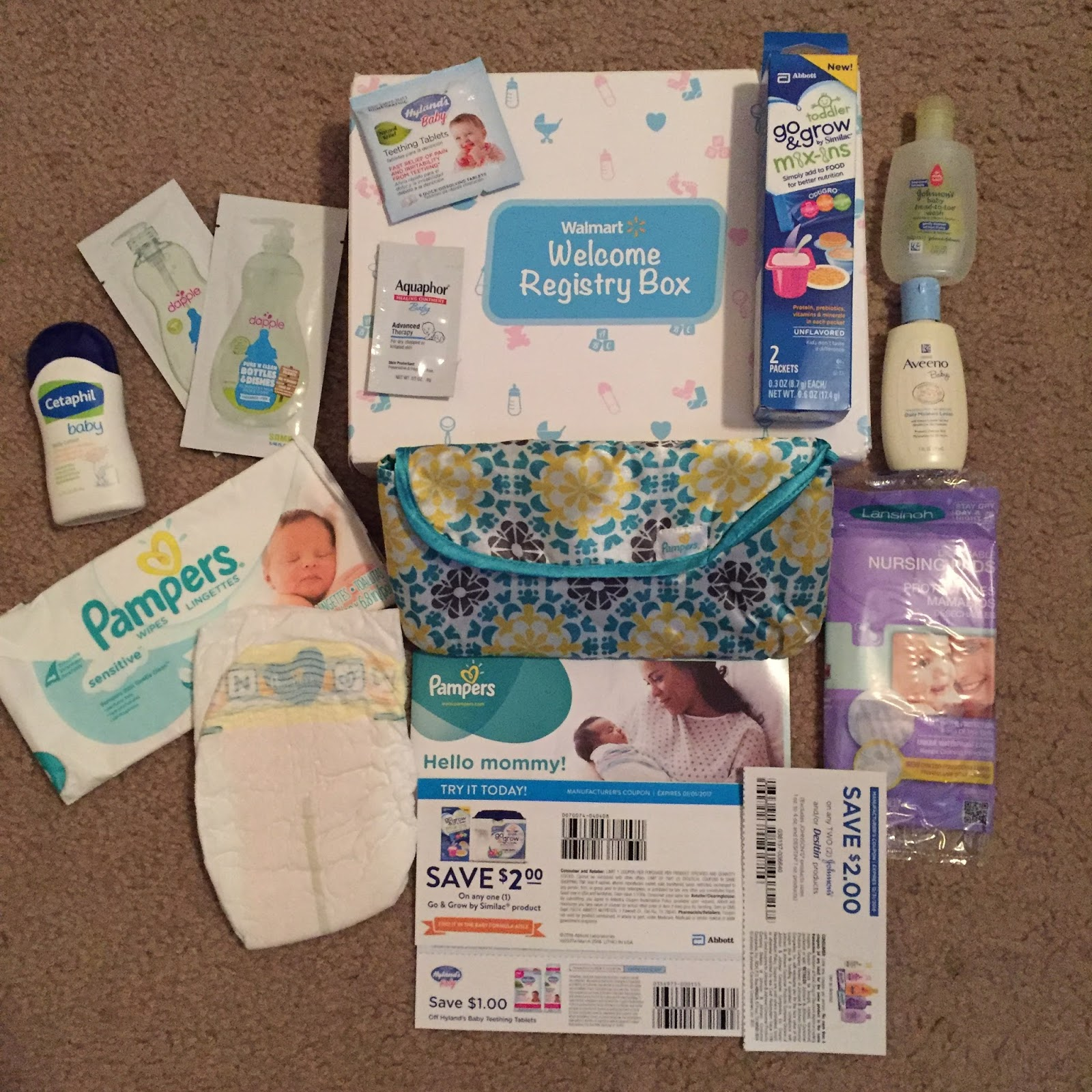 To Give And Get Reviews Walmart Baby Wel e Box