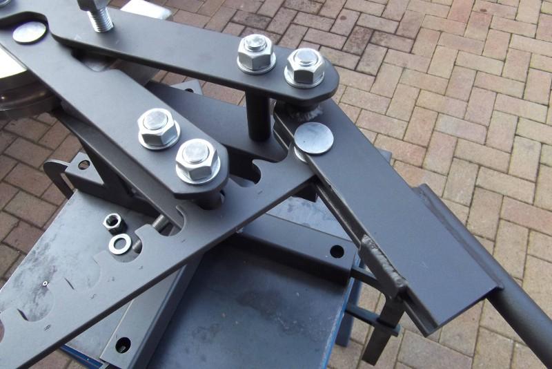 Costafabbri custom choppers come costruire una piegatubi curvatubi fai da te parte 4 - Costruire una finestra fai da te ...