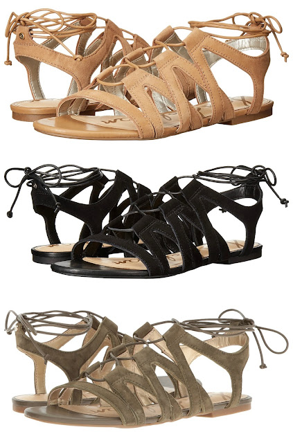 Sam Edelman Boyden sandals for only $38 (reg $75) + free shipping!