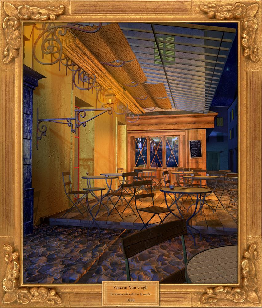Beatriz Arribas Van Gogh 3d