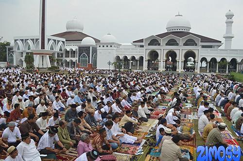 Gambar Sholat Sunat Idul Adha