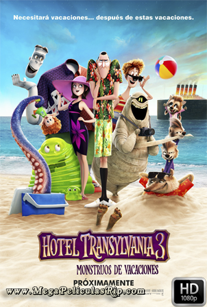 Hotel Transilvania 3 [1080p] [Latino-Ingles] [MEGA]