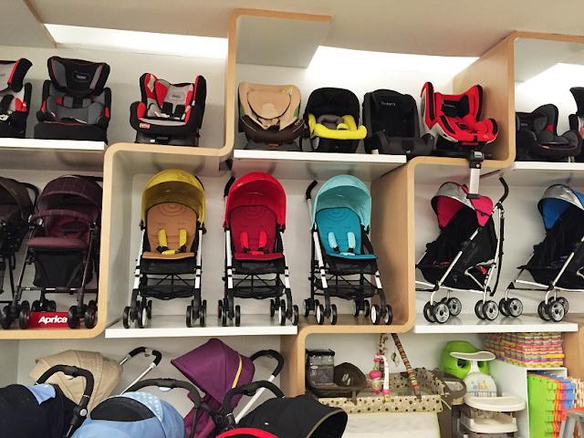 Como despachar carrinho bebê em Miami?
