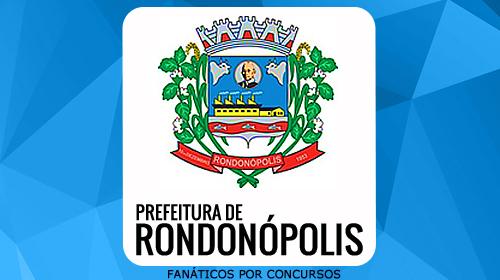 Rondonópolis - MT Apostila do Concurso 2016