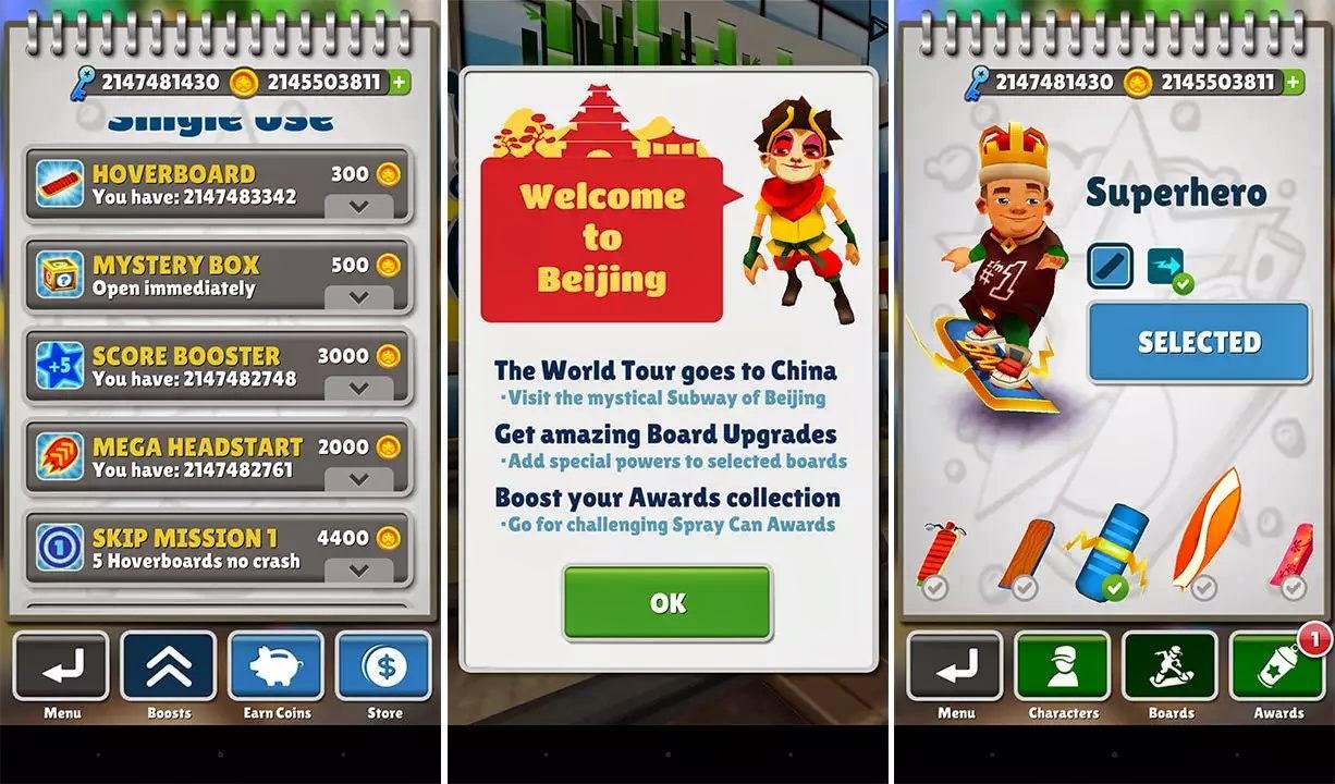 SoftKing Share Best File Download : Subway Surfers Beijing v1 28 0