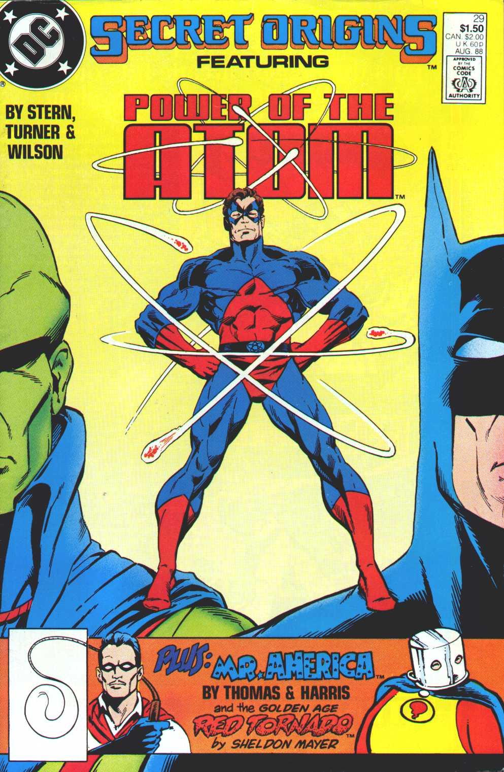 Read online Secret Origins (1986) comic -  Issue #29 - 1