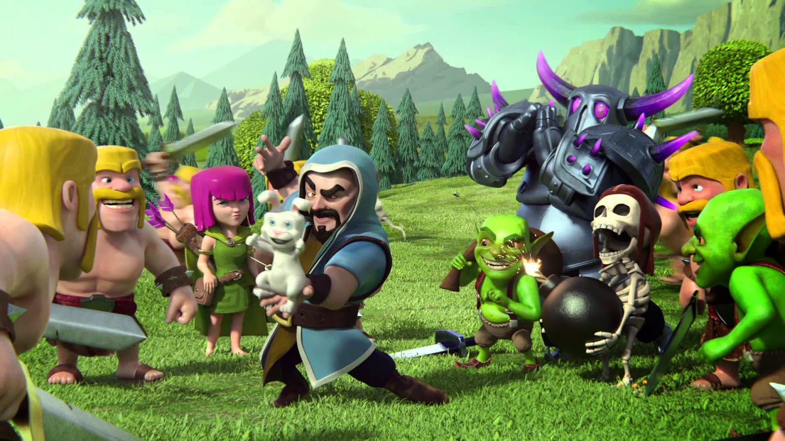 Explore Wallpaper 40 Best Clash Of Clans Game Hd Wallpapers