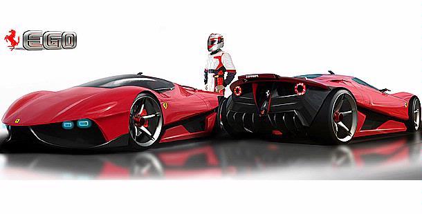 Ferrari P4 5 >> New Cars Design: Ferrari EGO Concept