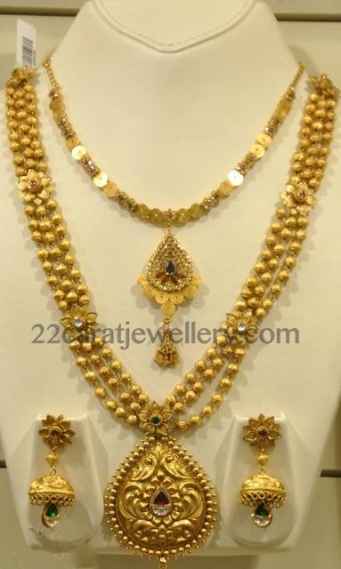 Malabargold 22k Kundan Haar Jewellery Designs