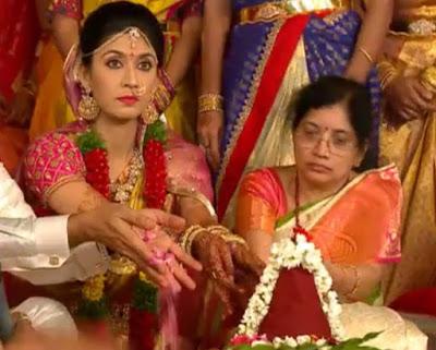 Pranathi wedding pooja