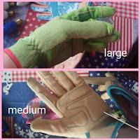 digz gloves sizing