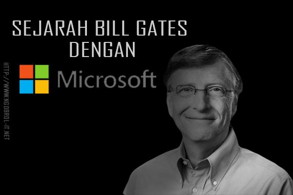 biografi dan sejarah bill gates mendirikan microsoft