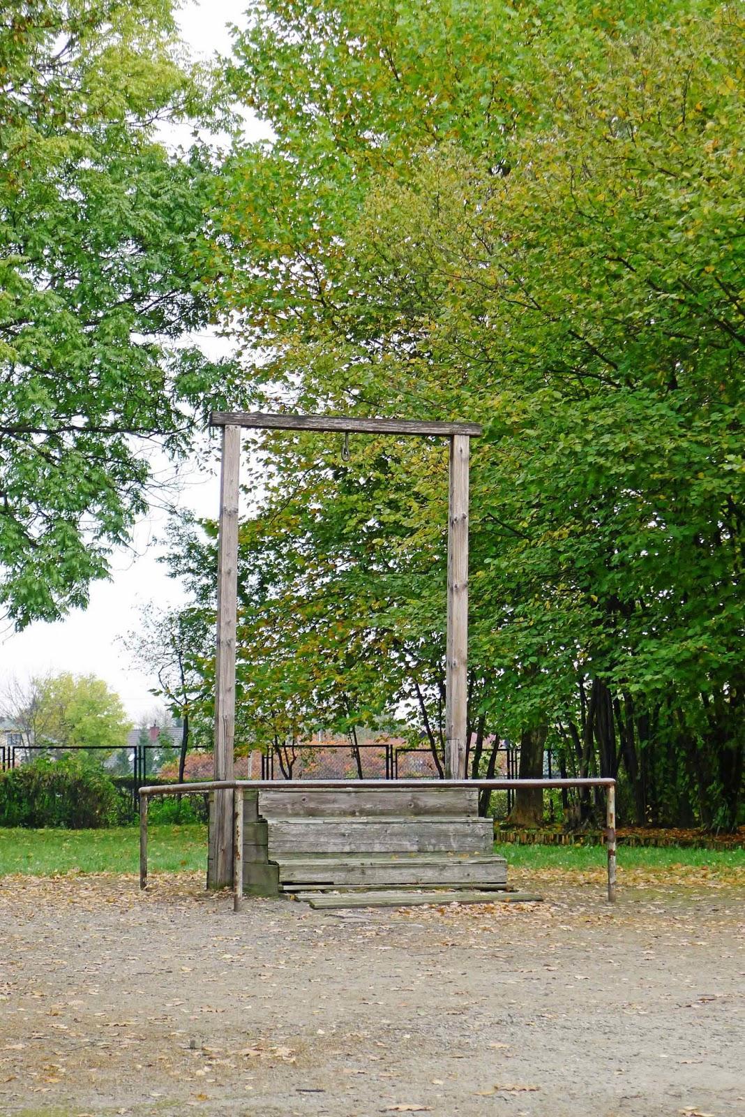 Auschwitz Hanging Gallow