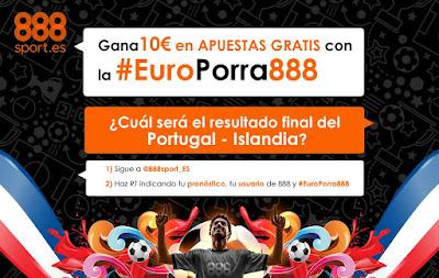 888sport europorra888 twitter Portugal vs Islandia 14 junio