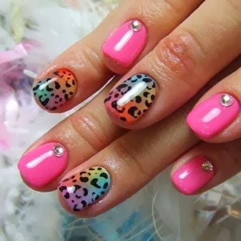 stylish nails art for girls at new year 2014  wfwomen