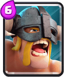 Carta do Bárbaros de Elite de Clash Royale