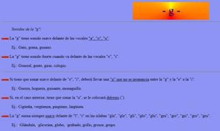 http://roble.pntic.mec.es/~msanto1/ortografia/ge.htm