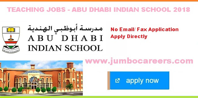 | Teaching jobs at Muroor Indian School Abu Dhabi