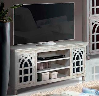Mesa TV Decape Grande 2 Puertas Arbiñan