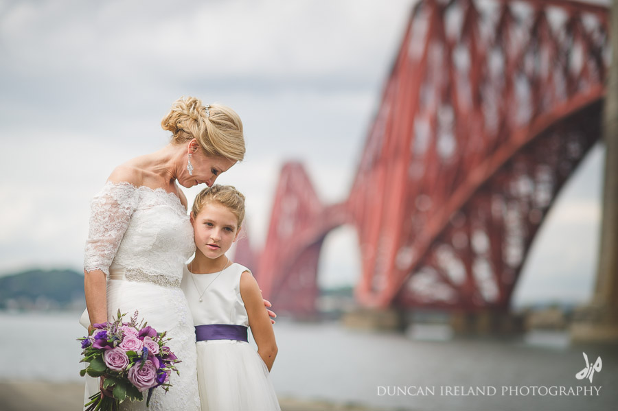 Forth Rail Bridge Wedding photography