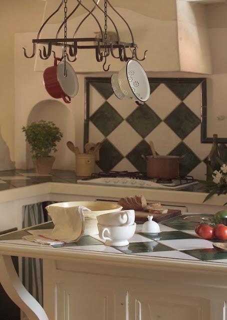 cocina estilo rustico frances