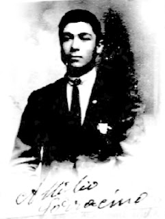Attilio Sarracino's 1924 passport photo.