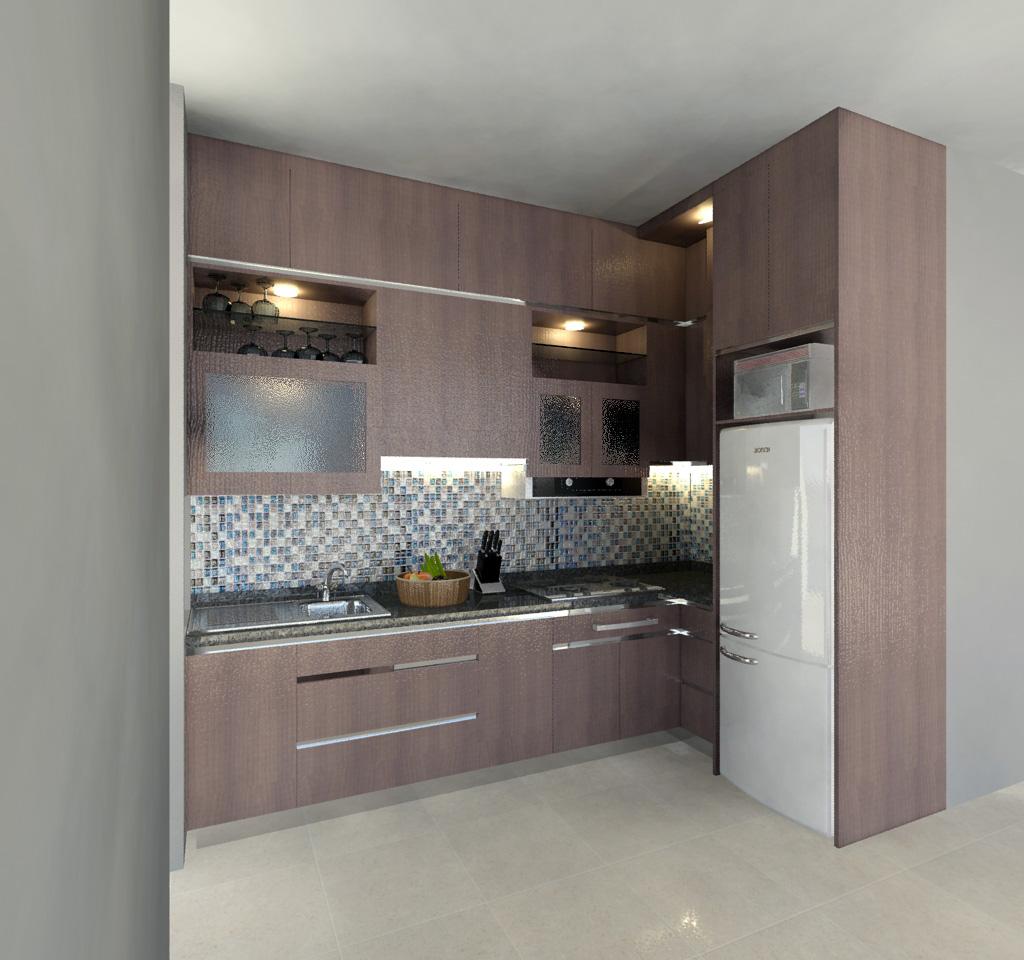 Harga 70 Model Gambar Kitchen Set Minimalis Desainrumahnya Com