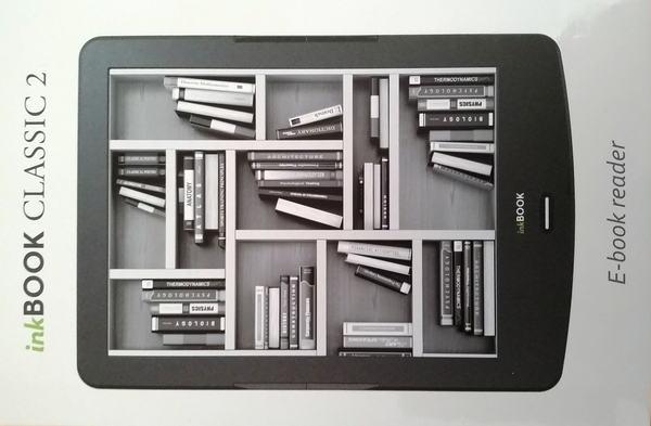 Pudełko z czytnikiem InkBOOK Classic 2