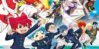 Yo-kai Watch vai ganhar um novo anime que será lançado em dezembro na TV japonesa