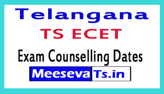 TS ECET Exam Counselling Dates