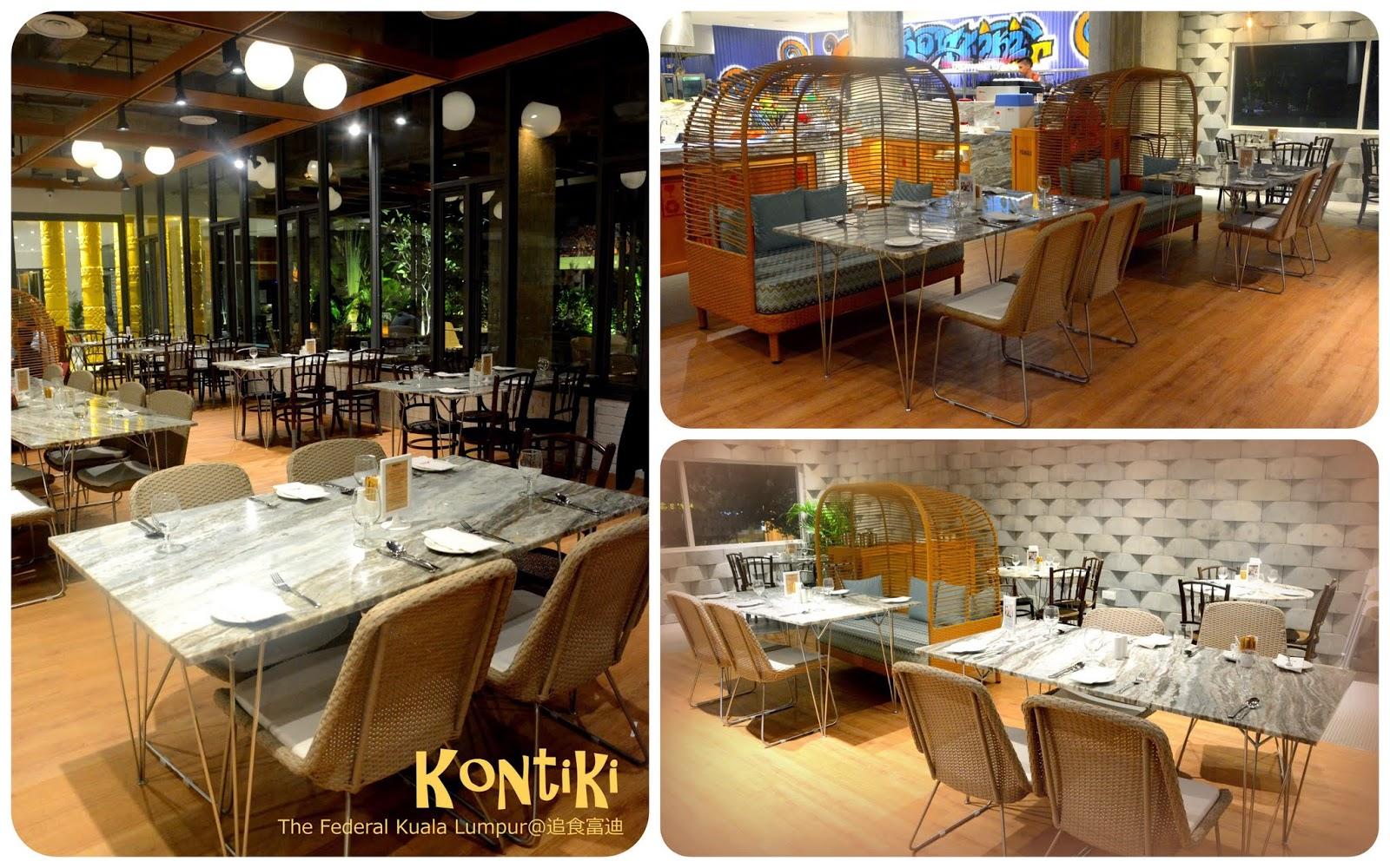 Federal Hotel Kontiki Restaurant