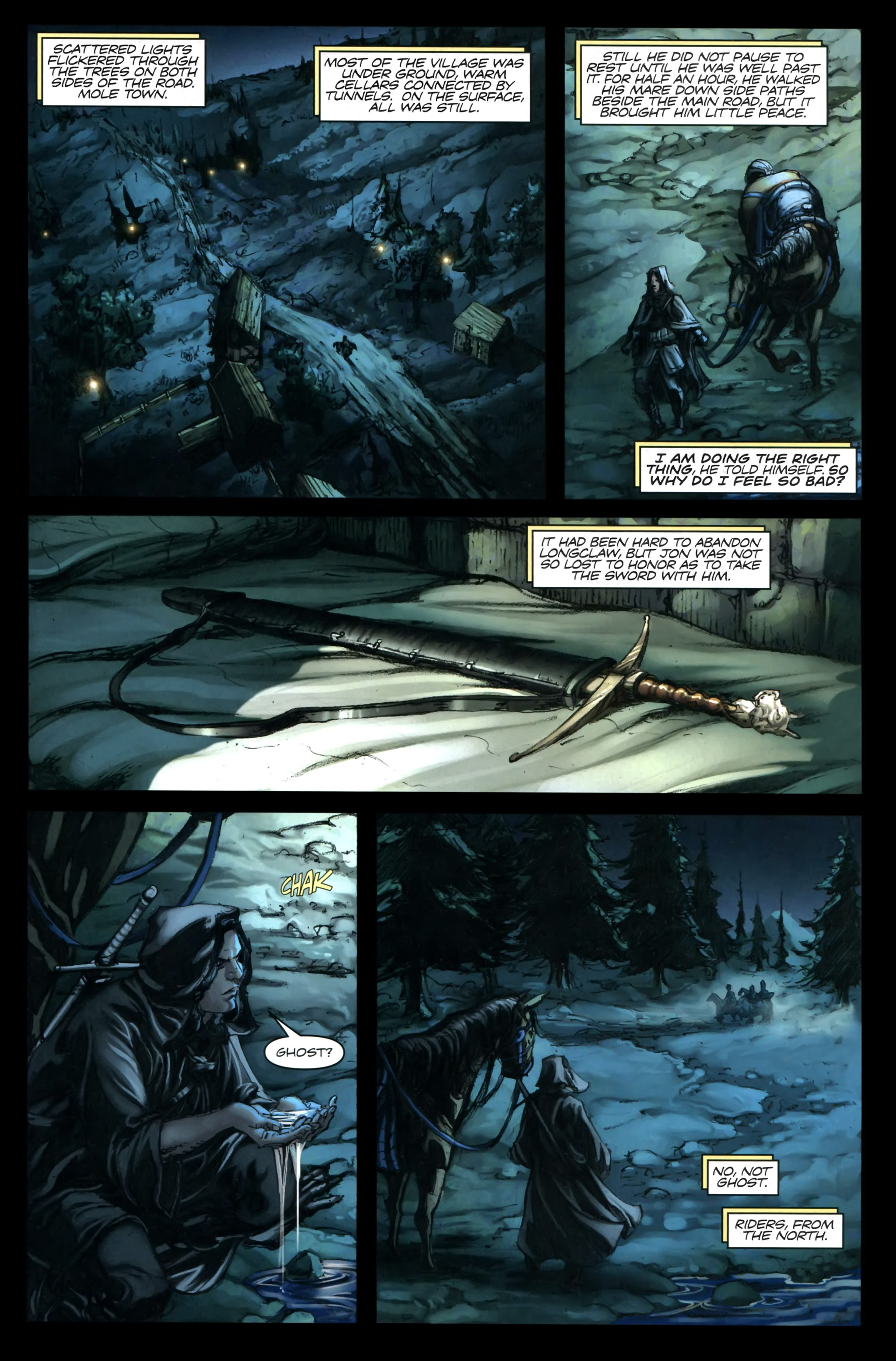 Read online A Game Of Thrones comic -  Issue #24 - 5