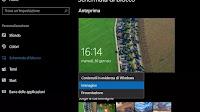 Personalizzare la schermata di blocco in Windows 10