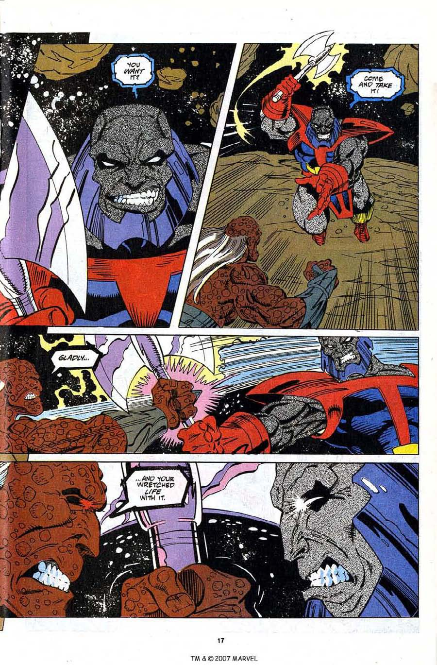 Read online Silver Surfer (1987) comic -  Issue #79 - 19