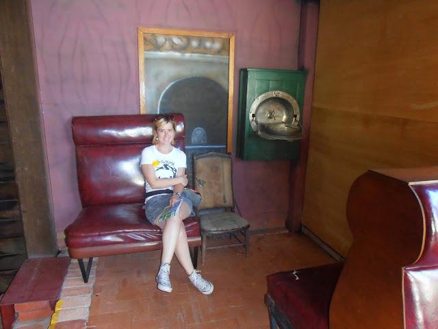 Pequeño museo dedicado al tren de Kuranda