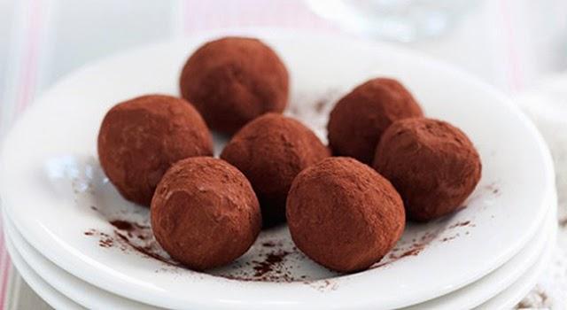 Trufas de chocolate paso 5