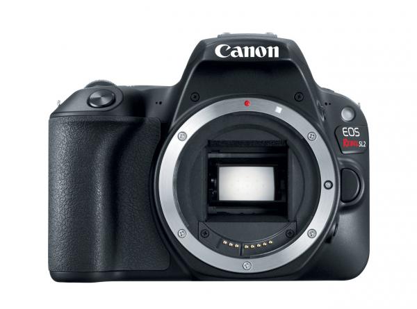 Canon EOS Rebel SL2, вид спереди