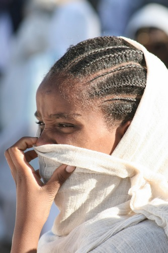 Afar girl from Djibouti