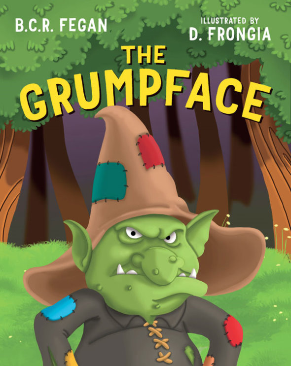 Debut children's picture book The Grumpface by BCR Fegan