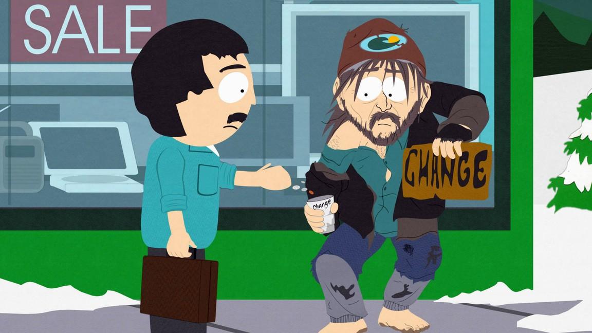 South Park - Season 11 Episode 07: Night of the Living Homeless