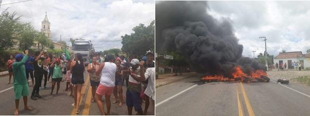 moradores-fazem-protesto-e-fecham-br-116-em-Morada-Nova