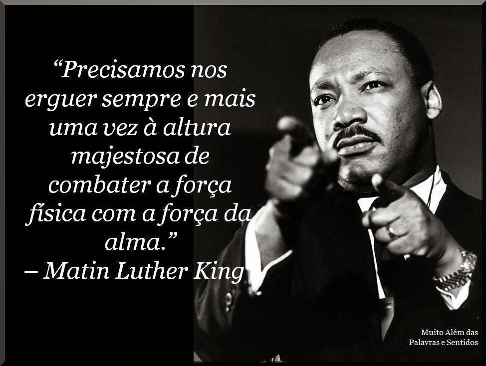 Frases De Martin Luther King Eu Tenho Um Sonho