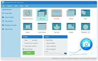 Apowersoft Screen Capture Pro 1.2.4 (Build 10/28/2016) Multilingual Full Keygen