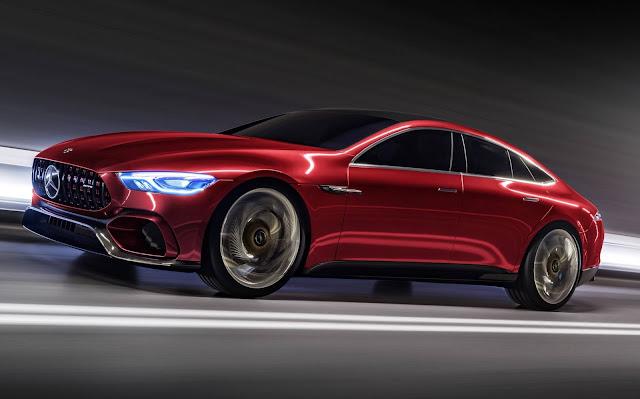 Mercedes-AMG GT4 Concept