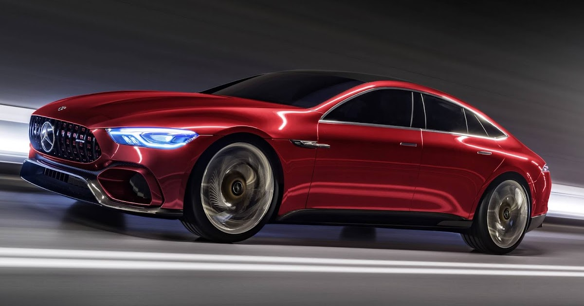 Mercedes AMG GT Concept: um concorrente do Panamera