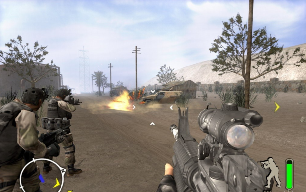 ScreenShot OnDelta Force Black Hawk Down Team Sabre Free Download