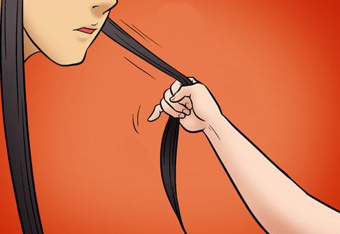Kim Chi & Củ Cải (bộ mới) phần 449: Tóc mai