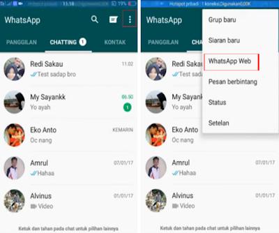 Cara menyadap percakapan Whatsapp orang lain dengan teknik clone