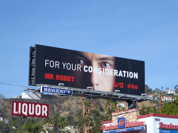 Mr Robot For your consideration billboard